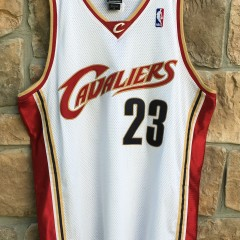 2003 Lebron James Cleveland Cavaliers Authentic Reebok NBA Jersey size 44 Large