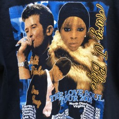 vintage Mary J Blige rap tee concert shirt robin thick size large