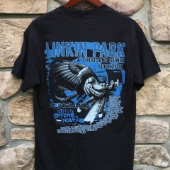 vintage 2011 Linkin Park original concert t shirt size medium