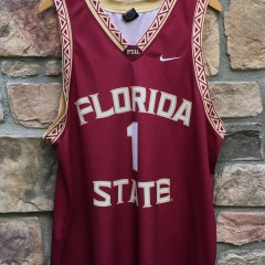 vintage 90's Florida State Seminoles NCAA Basketball jersey size XL #1