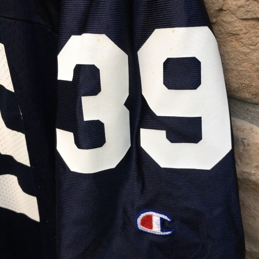 1996 90's Penn State Nittany Lions #39 Curtis Enis NCAA Champion Football jersey size 40 medium