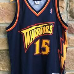 1998 Latrell Sprewell Golden State Warriors Starter Authentic NBA jersey size 48