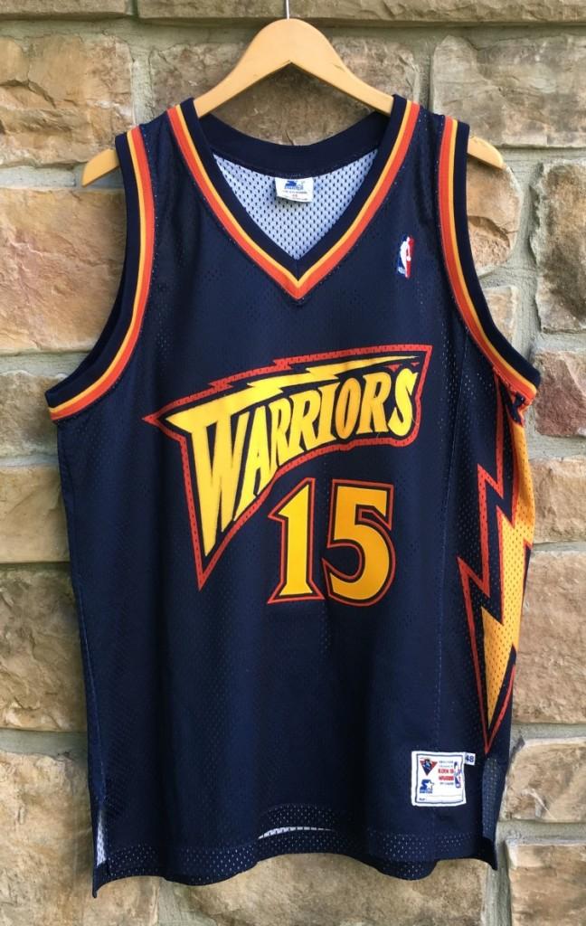 7880efdc 1998 Latrell Sprewell Golden State Warriors Starter Authentic NBA jersey  size 48