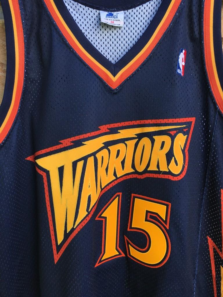 c908e4d6006 1998 Latrell Sprewell Golden State Warriors Starter Authentic NBA jersey  size 48
