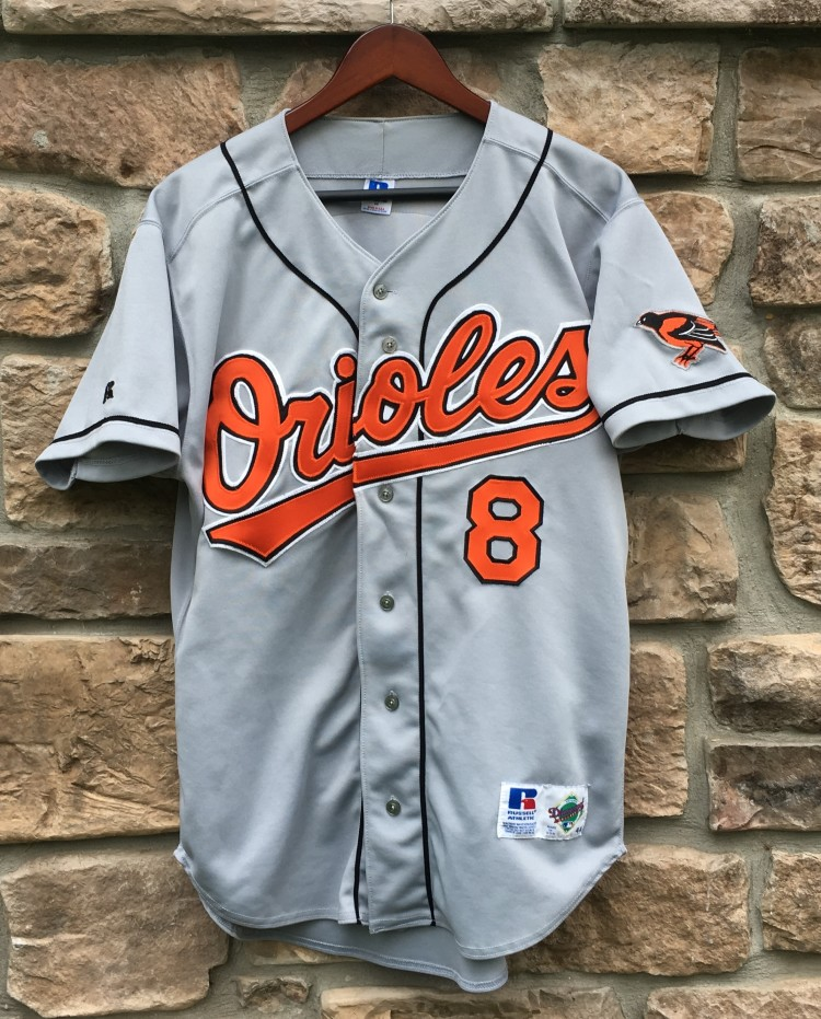 1995 Cal Ripken Jr Baltimore Orioles Authentic Russell MLB Jersey Size 44