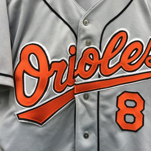1995 Cal Ripken Jr Baltimore Orioles authentic russell diamond collection MLB jersey size 44 Large