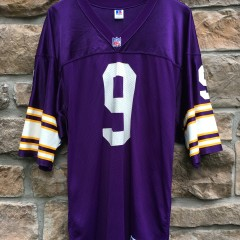 1993 Jim McMahon Minnesota Vikings Authentic russell nfl jersey size 44 large