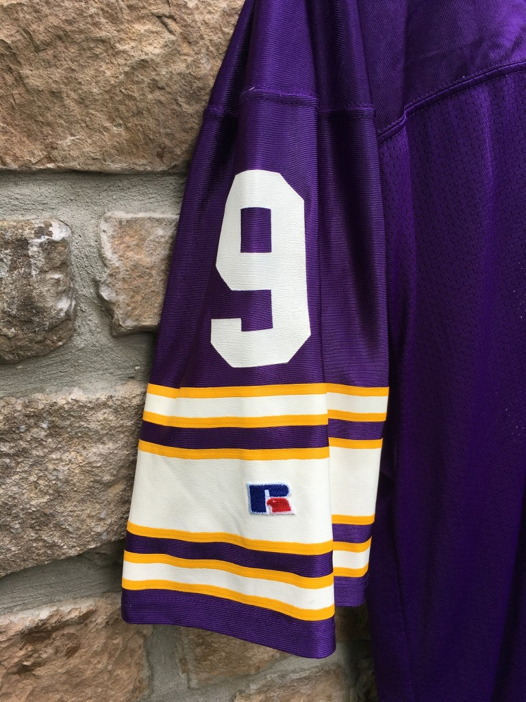 31992d6e377 1993 Jim McMahon Minnesota Vikings Authentic russell nfl jersey size 44  large