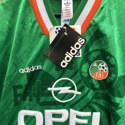 1994 Ireland World Cup Adidas Soccer Jersey Size Xl Rare