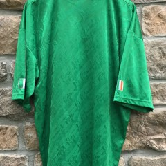 1994 Ireland World Cup Soccer jersey Adidas deadstock size XL green