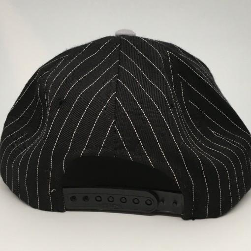 vintage 90's Los Angeles Raiders Sports Specialties script nfl snapaback hat pinstripe