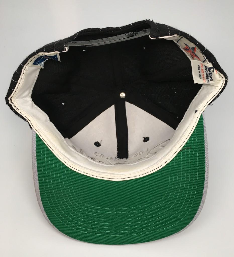 90's Los Angeles Raiders Sports Specialties Script NFL Snapback Hat