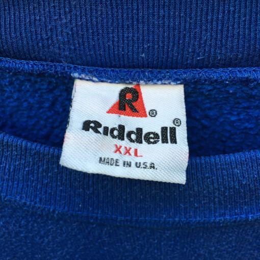 1994 New York Giants Vintage Riddell NFl crewneck sweatshirt size XXL