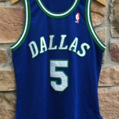 1995 Jason Kidd Dallas Mavericks Authentic Champion NBA jersey size 40 medium