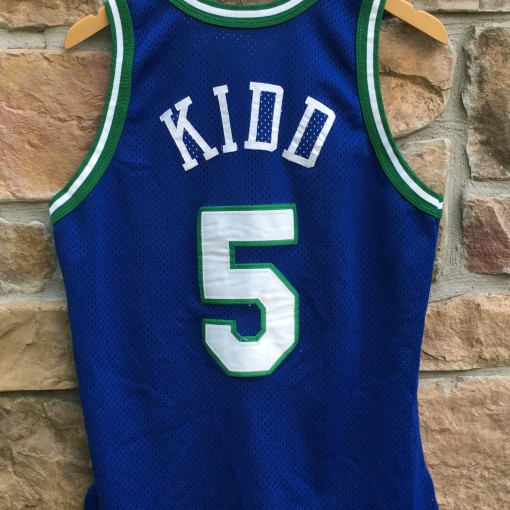 1995 Jason Kidd Dallas Mavericks Authentic Champion NBA jersey size 40 medium