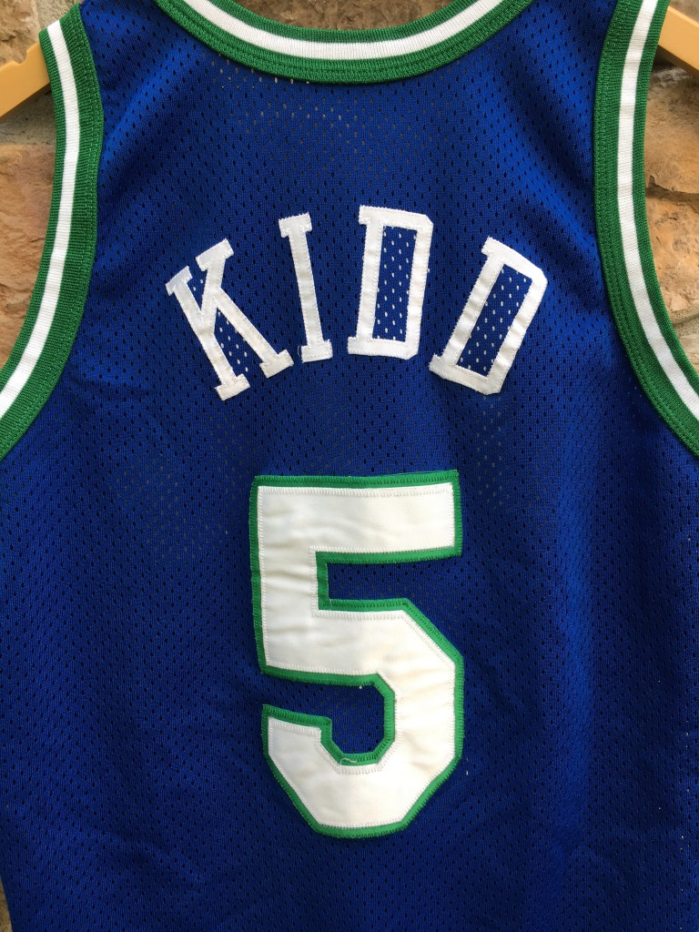 1995 Jason Kidd Dallas Mavericks Authentic Champion NBA jersey size 40  medium f151f1c52