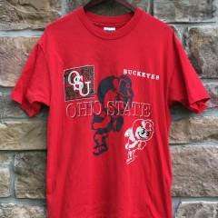 80's Ohio State Buckeyes Hanes NCAA  T shirt size Large