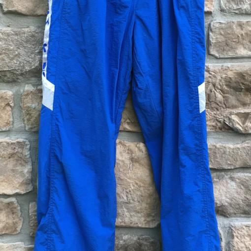 Vintage late 80's Diadora full tracksuit size xl white blue