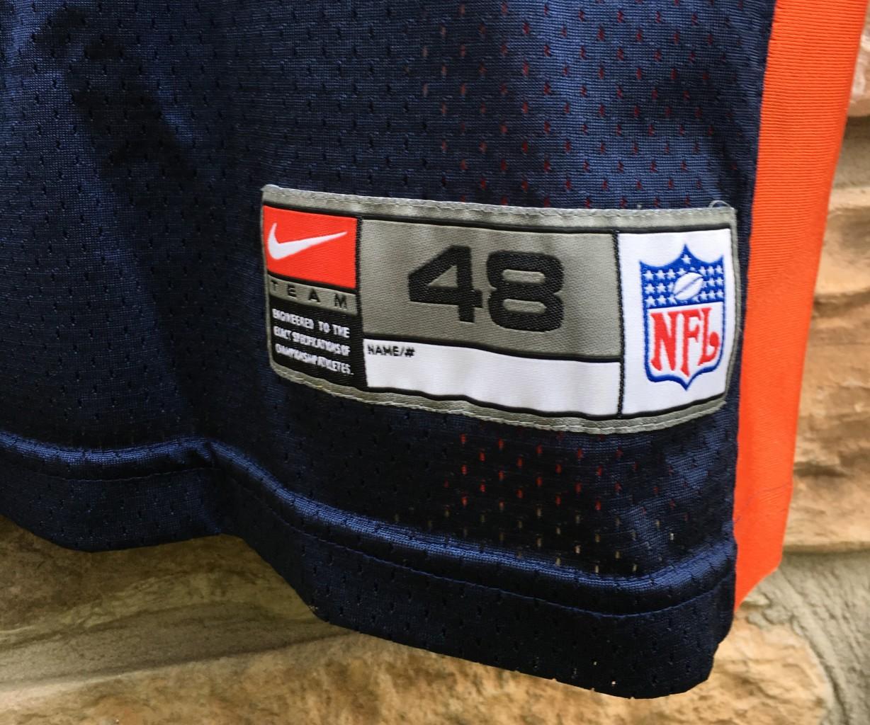65a76422 1998 John Elway Denver Broncos Nike Authentic NFL Jersey Size 48