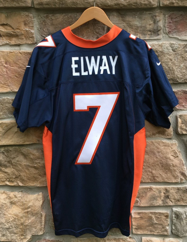 brand new 77a7f 914a8 1998 John Elway Denver Broncos Nike Authentic NFL Jersey Size 48