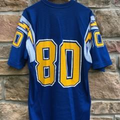 vintage 80's Kellen Winslow San Diego Chargers Sandknit NFL Jersey size large