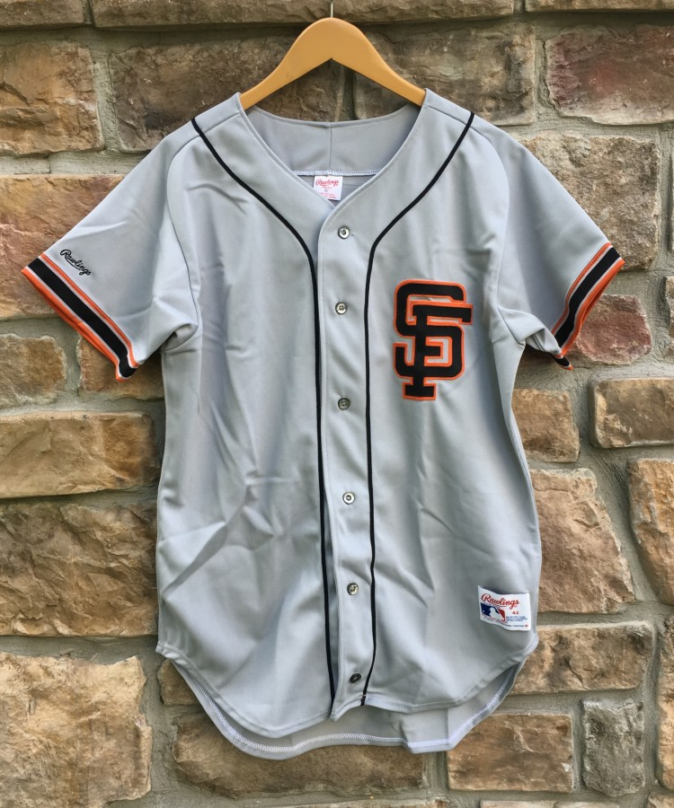 ad82d760e4d vintage 80 s Will Clark Authentic Rawlings San Francisco Giants Diamond  Collection authentic MLB Jersey size 42
