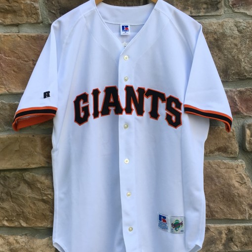 Vintage 90's San Francisco Giants Authentic Russell Diamond Collection Authentic MLB jersey size 44 Large