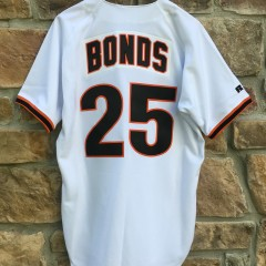 Vintage 90's San Francisco Giants Authentic Russell Diamond Collection Authentic MLB jersey size 44 Large  barry bonds