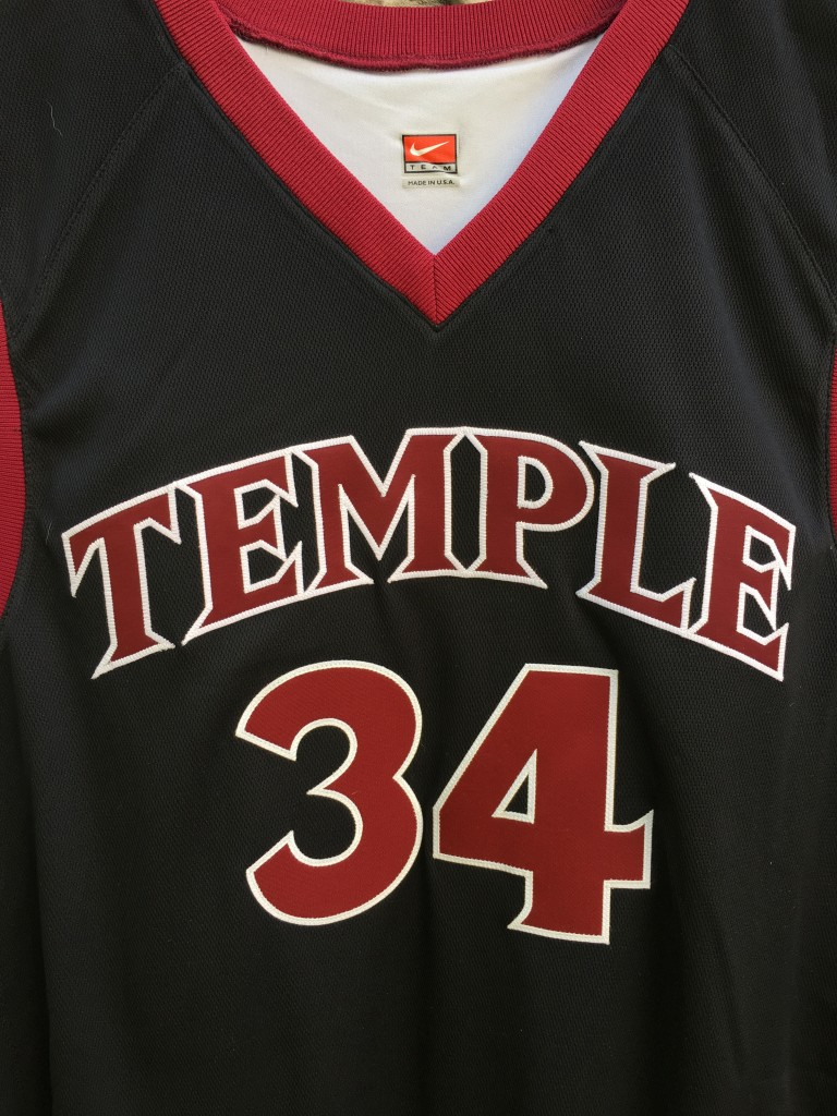 2003 David Hawkins Temple Owls Authentic Nike NCAA basketball jersey size 48 ccf4d5167