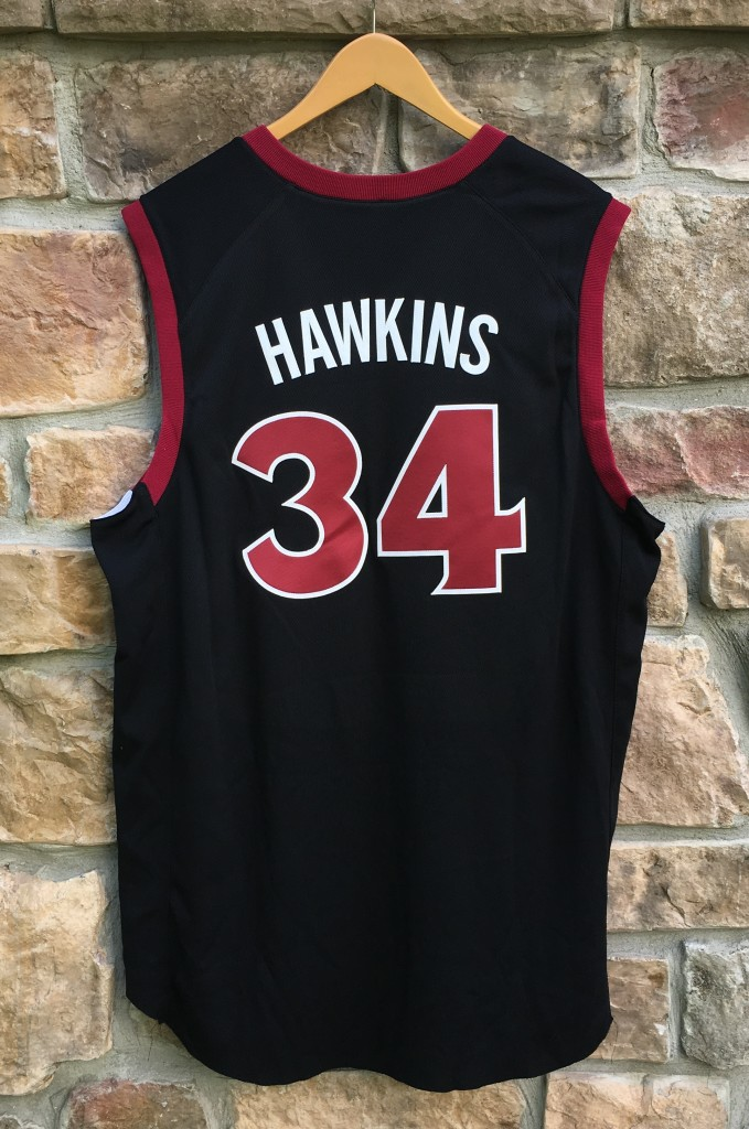 4fa52ec3757 2003 David Hawkins Temple Owls Authentic Nike NCAA basketball jersey size 48