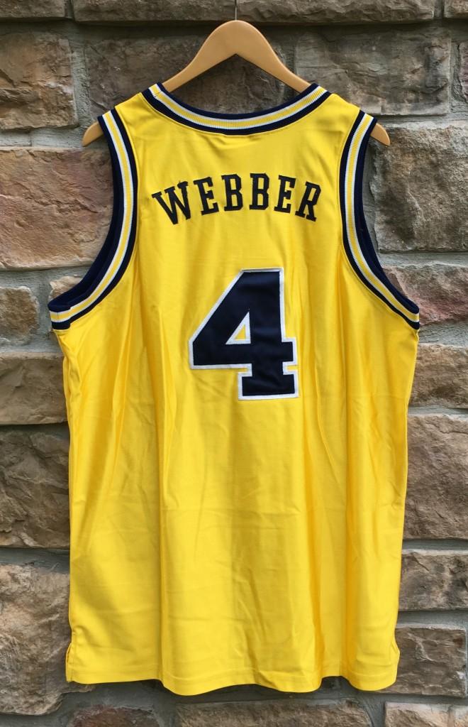 wholesale dealer 84300 6359d order chris webber jersey sale 965aa 5e59e