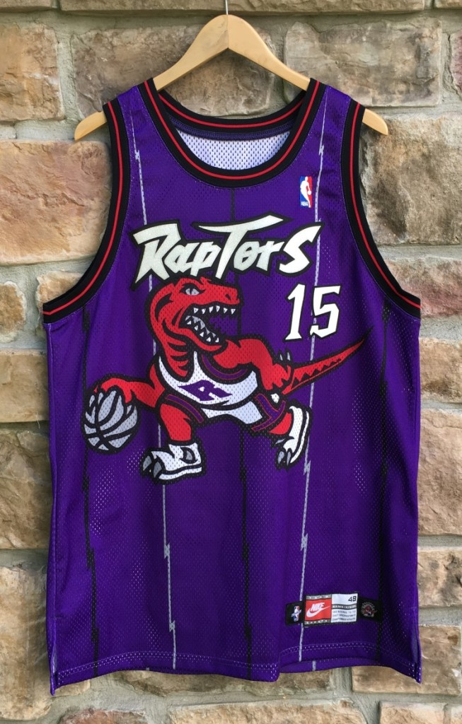 promo code 68020 ef734 1998 Vince Carter Toronto Raptors Nike Authentic NBA Jersey Size 48