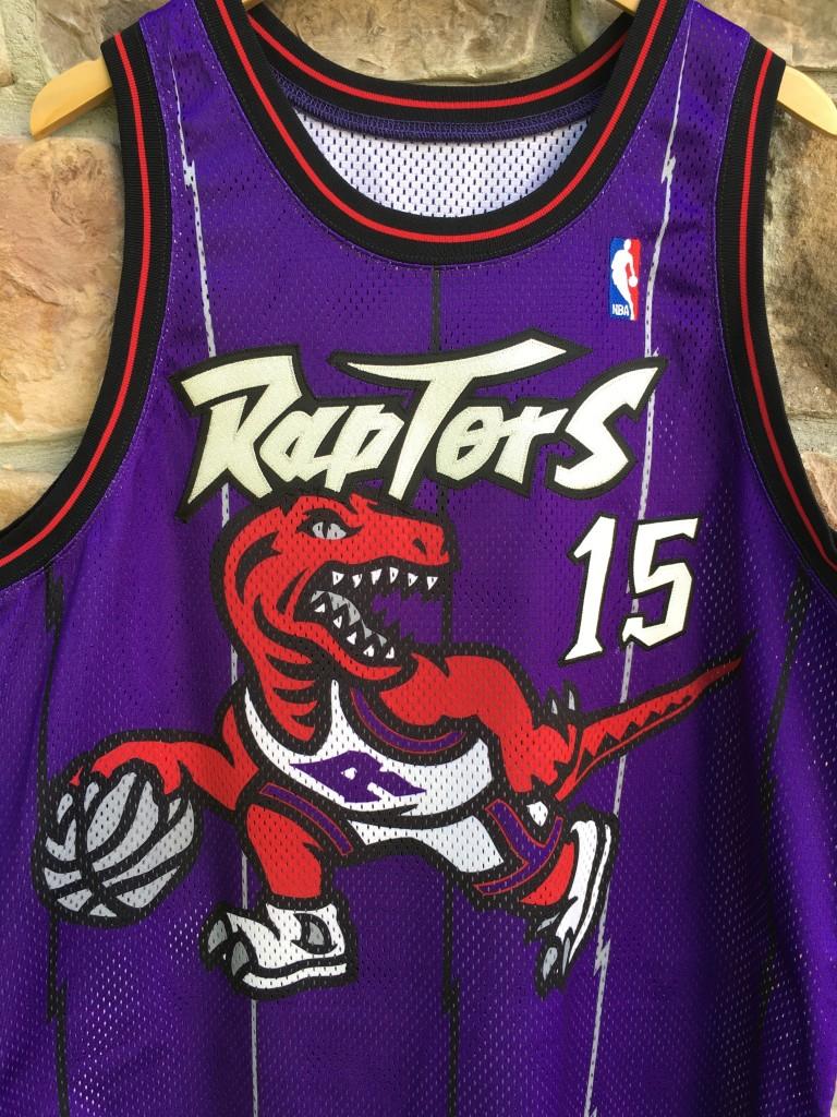 f318369f6 ... shopping 1998 toronto raptors vince carter pro cut authentic nike nba  jersey size 48 xl purple