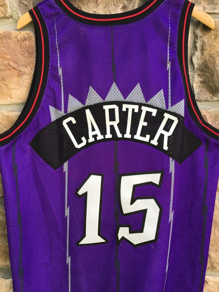 12d7a0ef771 ... shopping 1998 toronto raptors vince carter pro cut authentic nike nba  jersey size 48 xl purple