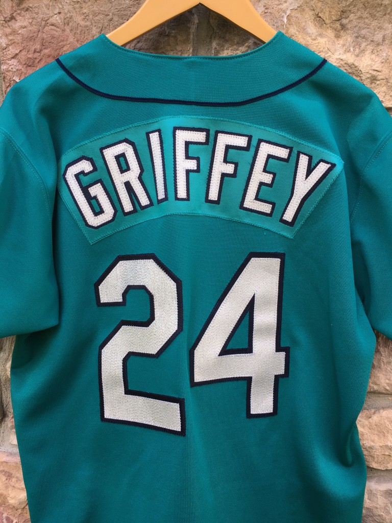 1995 Ken Griffey JR Seattle Mariners Authentic Russell ...