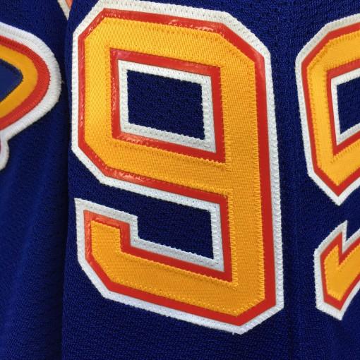 1995-96 Wayne Gretzky St. Louis Blues Authentic CCM NHL Hockey jersey size 44 large blue