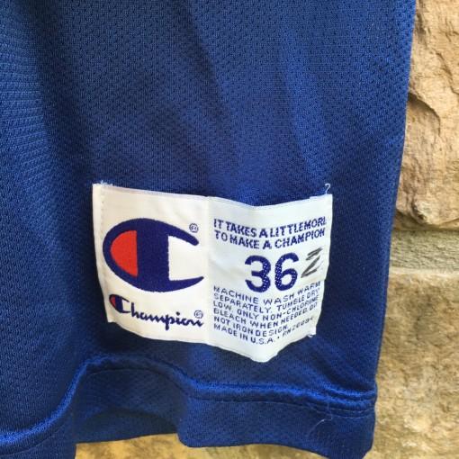 90's Jason Kidd Dallas Mavericks Champion NBA jersey size 36 small