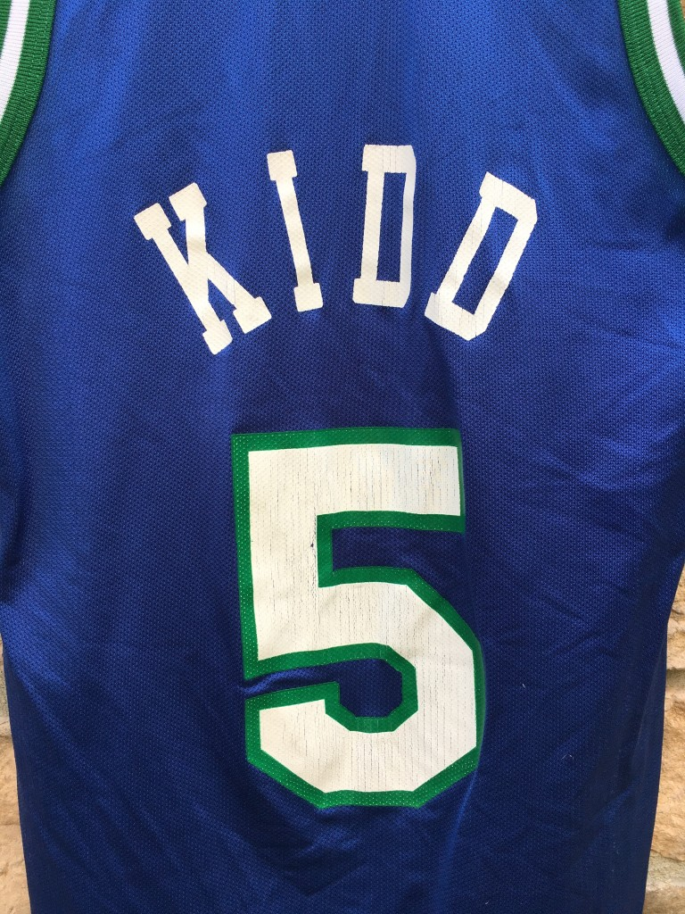 90 s Jason Kidd Dallas Mavericks Champion NBA jersey size 36 small f949b08dd