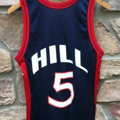 1996 Grant Hill Team USA Basketball Dream team olympic champion jersey size 36 small