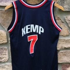 1994 Shawn Kemp Team USA Champion Olympic basketball jersey size youth large
