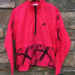 90' Nike pink windbreaker jacket deadstock with tags men's size small