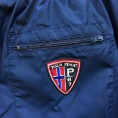 90's Polo Ralph Lauren Sport sweatpants size XL navy blue crest