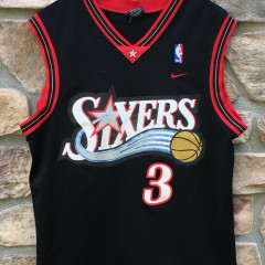 Vintage Allen Iverson Philadelphia Sixers Nike NBA swingman jersey size Medium