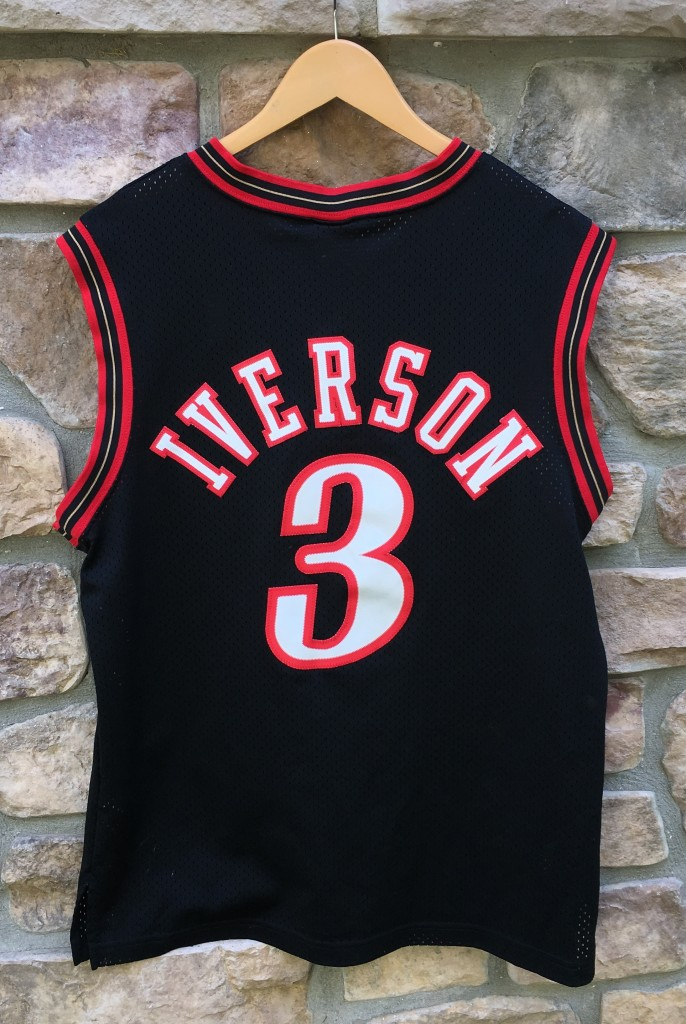 e5a63cf39 Vintage Allen Iverson Philadelphia Sixers Nike NBA swingman jersey size  Medium