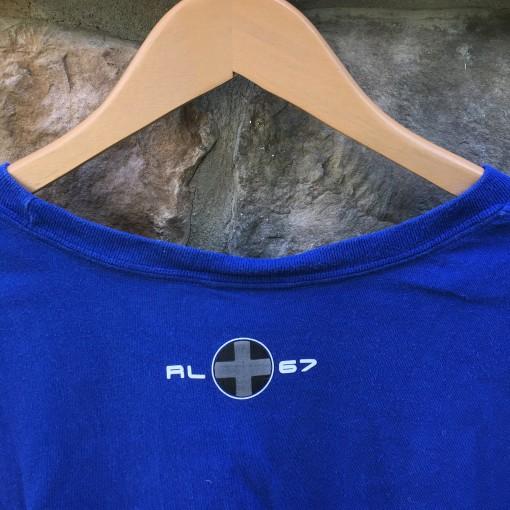 2002 Polo Ralph Lauren Sport long sleeve t shirt blue size XL vintage