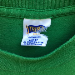 90's New York Jets kelly green NFL T shirt Trench Size Large