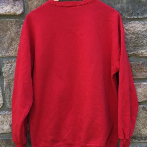 90's Kansas City Chiefs Nutmeg NFL crewneck sweatshirt size large