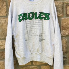 90's Philadelphia Eagles Majestic NFL crewneck sweatshirt size XL