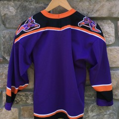 90's Philadelphia Phantoms Purple Bauer AHL jersey youth size XL