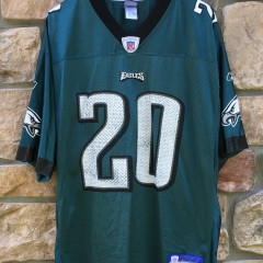 vintage Reebok Brian Dawkins Philadelphia Eagles NFL jersey size Large